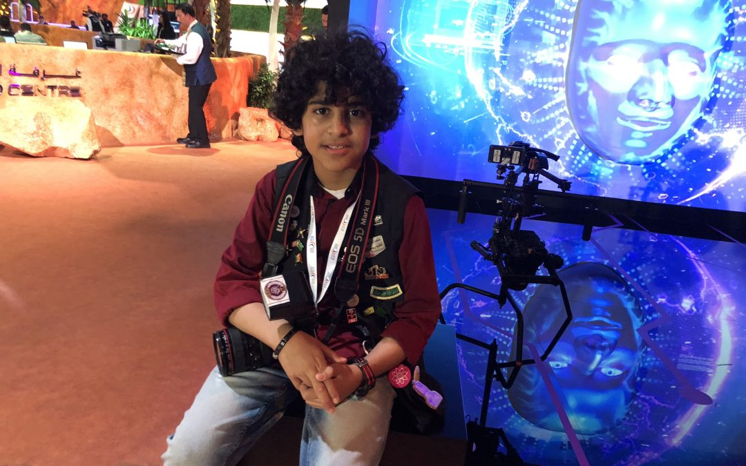 The Youngest Photographer in the Middle East