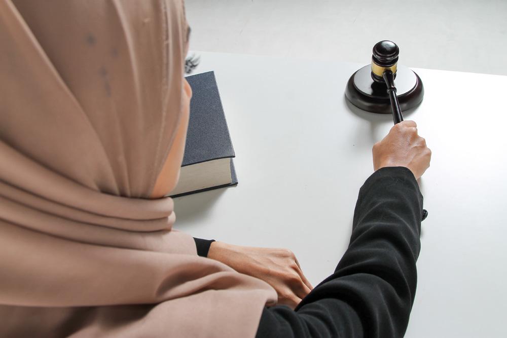 The first female Saudi judge