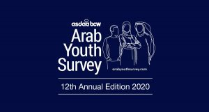 Tweeted by the Arab Youth Survey as they highlight the importance of youth.