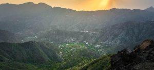 Saudi mountains beautiful